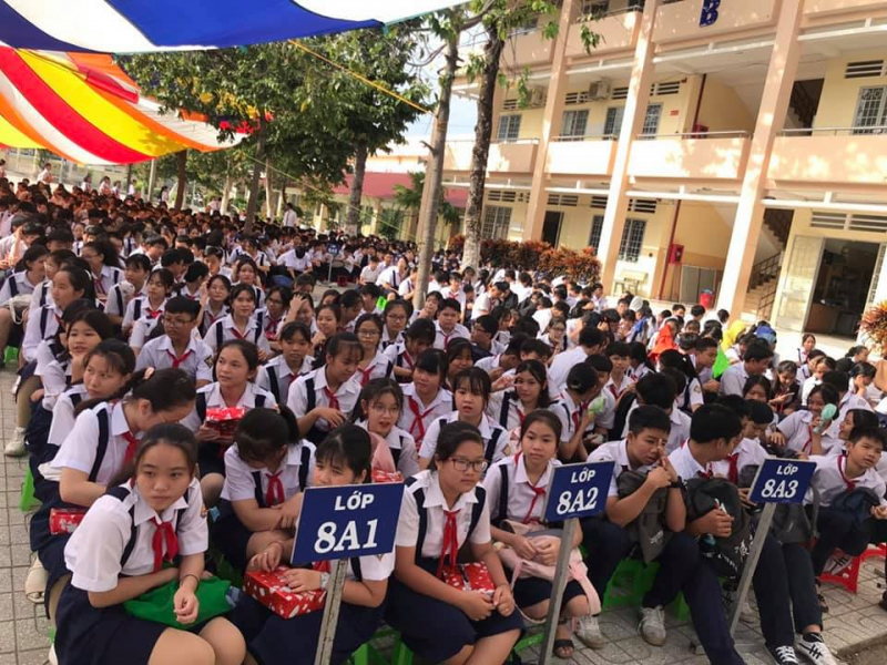 Trường THCS Chu Văn An niềm tự hào của bao lớp học trò đi qua