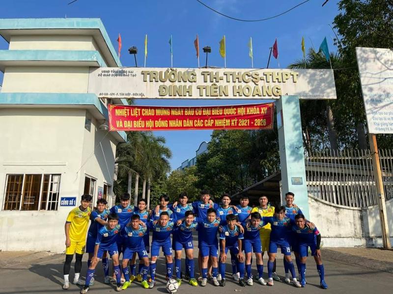 Trường THCS Đinh Tiên Hoàng