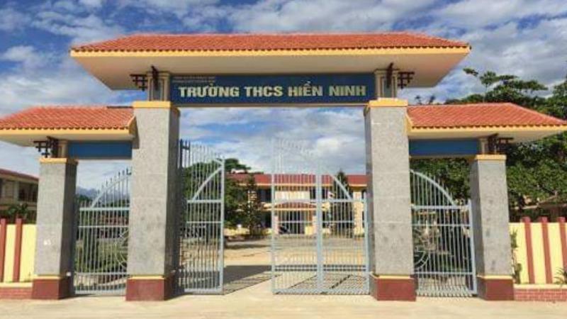 Trường THCS Hiền Ninh