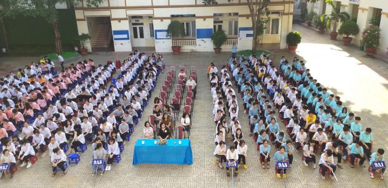Trường THCS Hồng Bàng Hải Phòng