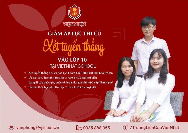 Trường THCS Liên cấp Việt Nhật