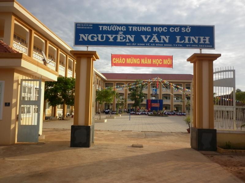 THCS Nguyễn Văn Linh đổi mới từng ngày, nâng cao chất lượng về cơ sở vật chất lẫn chất lượng học tập.