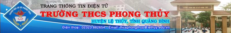 Trường THCS Phong Thủy