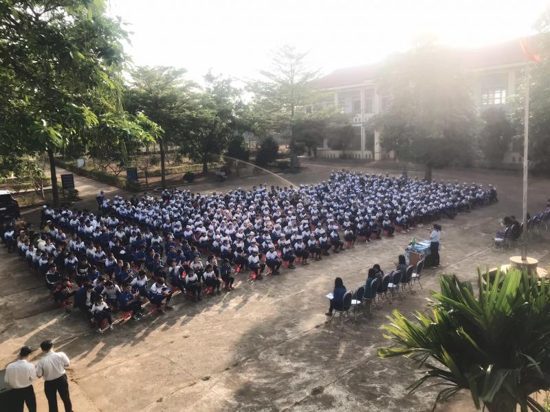 Trường THCS Tôn Đức Thắng