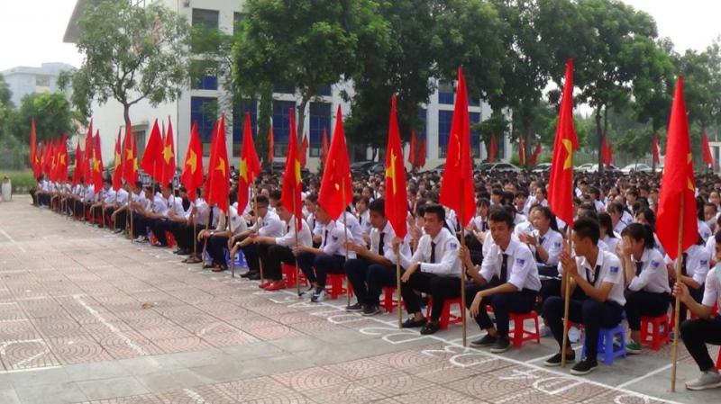 Học sinh trường THPT Bắc Thăng Long