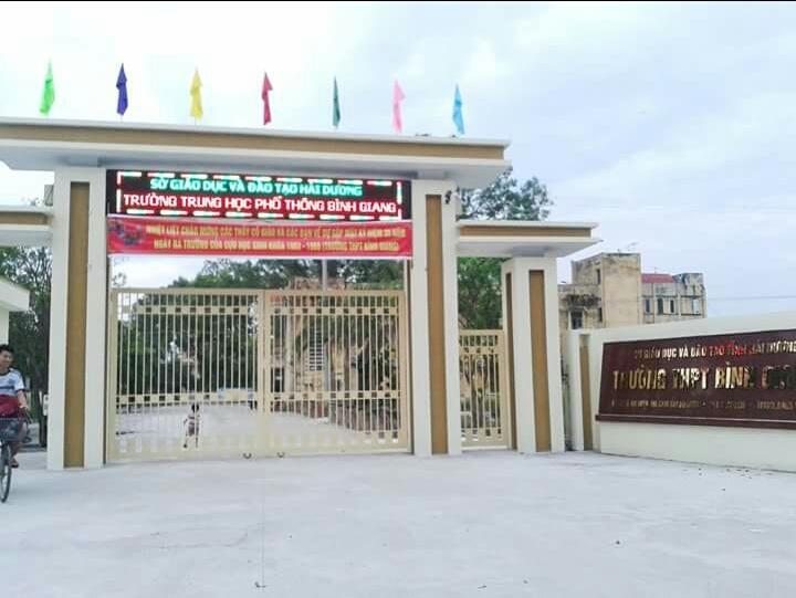 THPT Bình Giang tại xã Thái Học, huyện Bình Giang, tỉnh Hải Dương