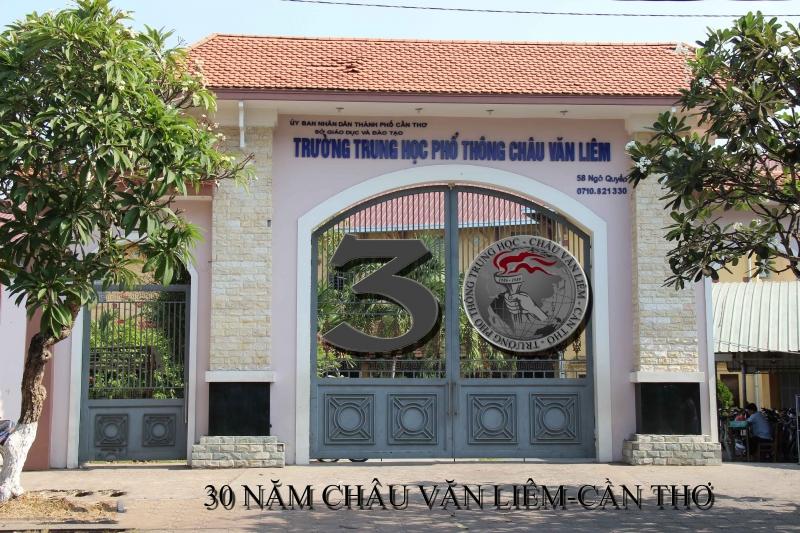 Trường THPT Châu Văn Liêm có hơn 100 năm tuổi