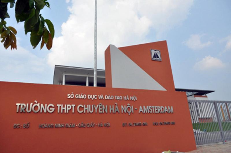 Trường THPT chuyên Amsterdam