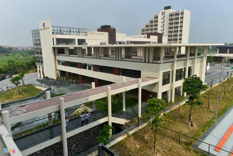 Một góc nhìn của ngôi trường