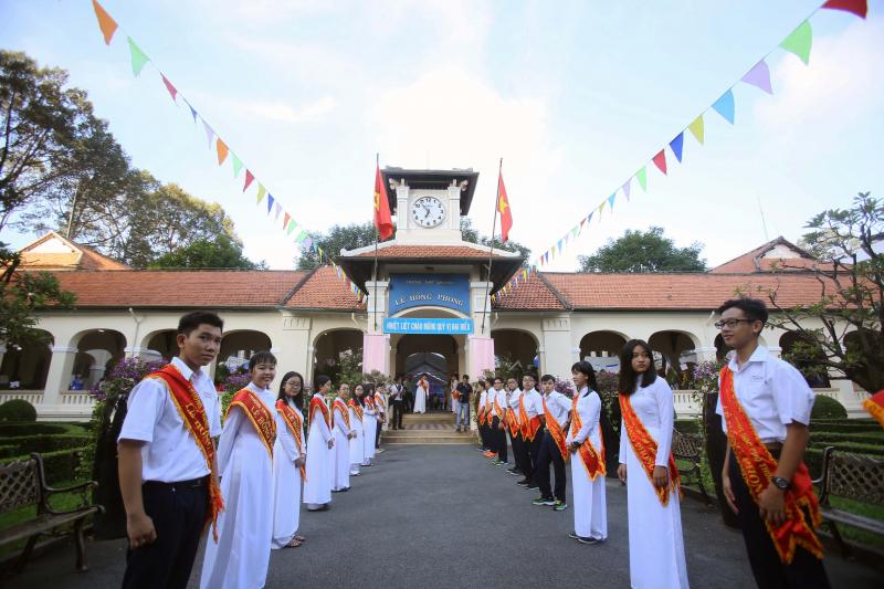 Nét cổ kính hoang sơ của Trường Chuyên Lê Hồng Phong