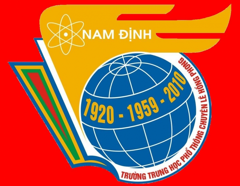 Logo trường THPT chuyên Lê Hồng Phong- Nam Định.