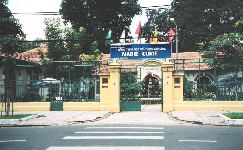 Trường Marie Curie - một ngôi trường có bề dày về truyền thống