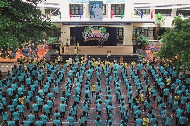 LEVOSA là ngày hội tưng bừng của hơn 400 học sinh lớp 10