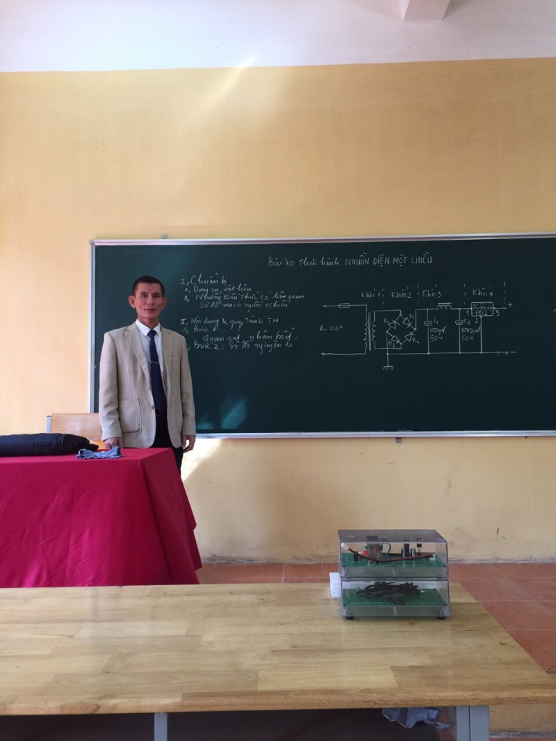 Giáo viên trường THPT Hoài Đức B luôn cố gắng để đầu tư chuyên môn và phương pháp giảng dạy.