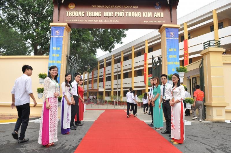 Trường THPT Kim Anh