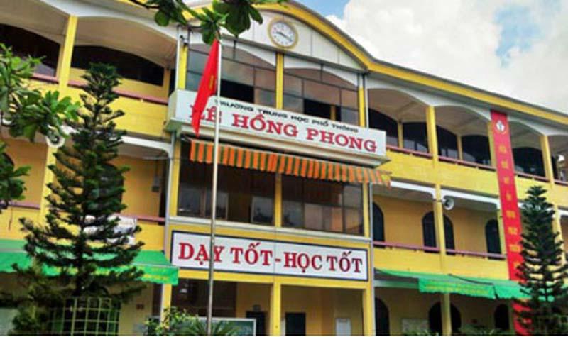 Trường THPT Lê Hồng Phong