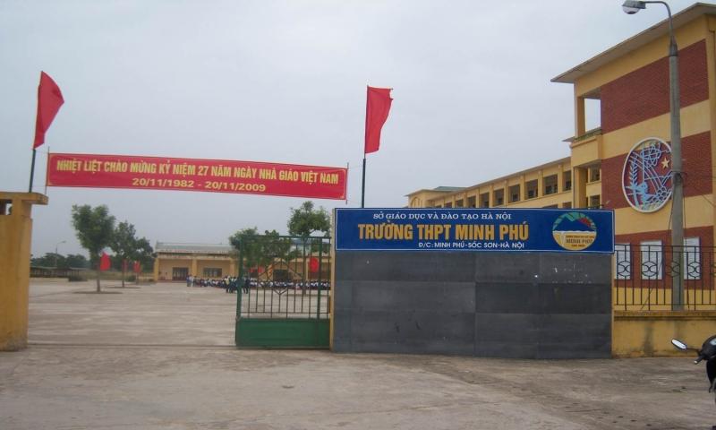 Trường THPT Minh Phú