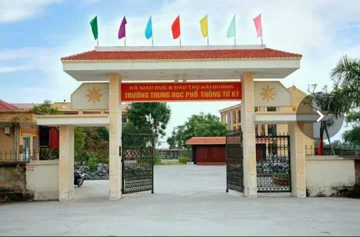 Trường THPT Tứ Kỳ tại địa chỉ đường tỉnh 391, thị trấn Tứ Kỳ, Tứ Kỳ, Hải Dương
