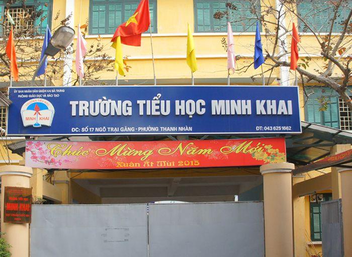 Trường tiểu học Minh Khai