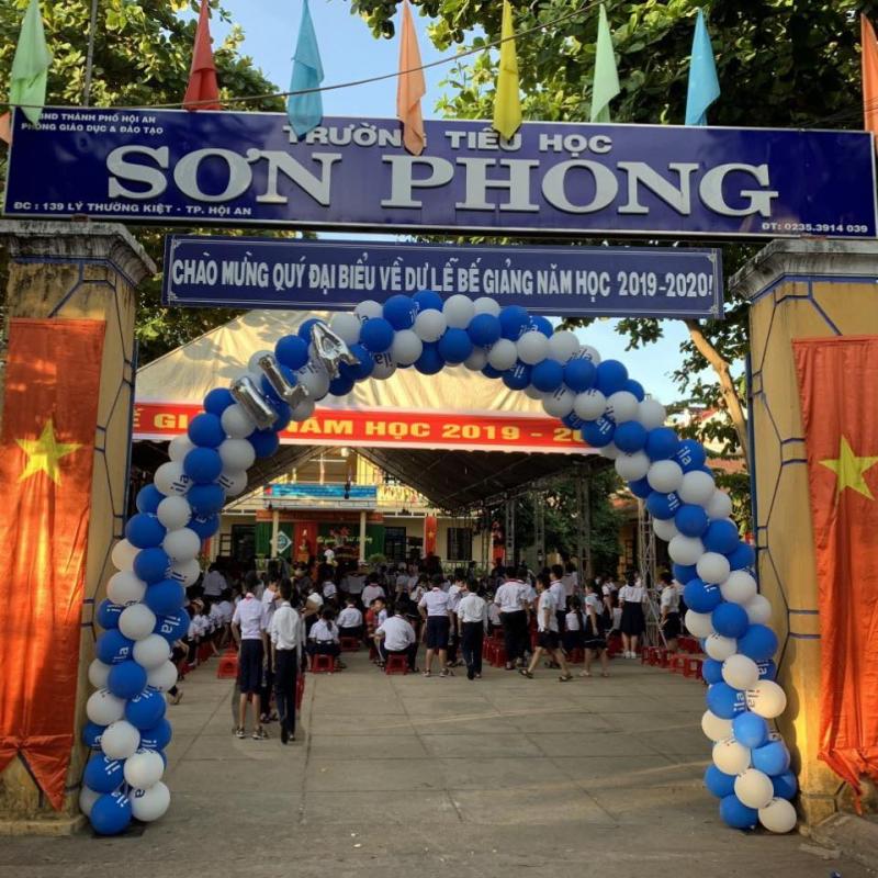 Trường Tiểu Học Sơn Phong
