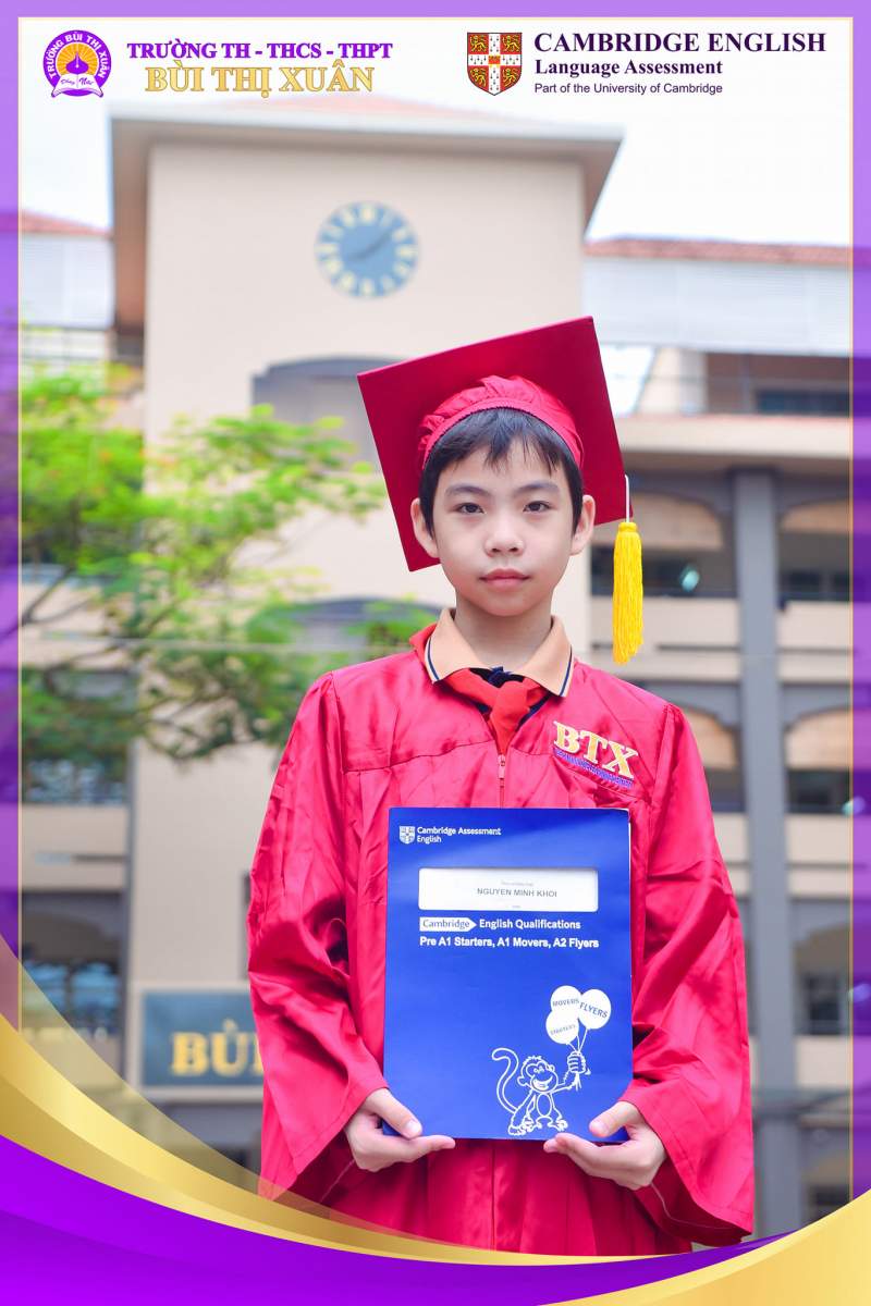 Trường Tiểu học -THCS - THPT Bùi Thị Xuân Biên Hòa