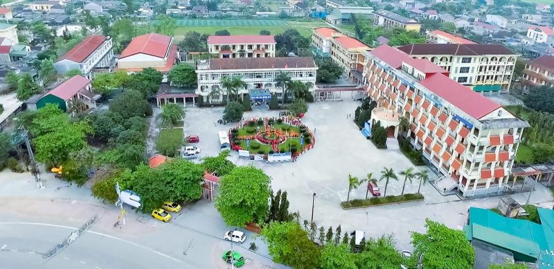 Trường Tiểu học - THCS - THPT Chất lượng cao Đại học Hà Tĩnh