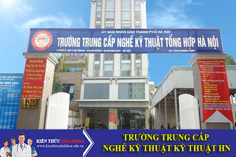 Trường trung cấp nghề tổng hợp Hà Nội