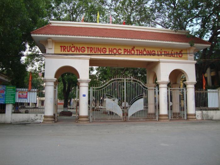 THPT Lý Thái Tổ