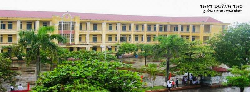 Toàn cảnh Trường Trung học phổ thông Quỳnh Thọ