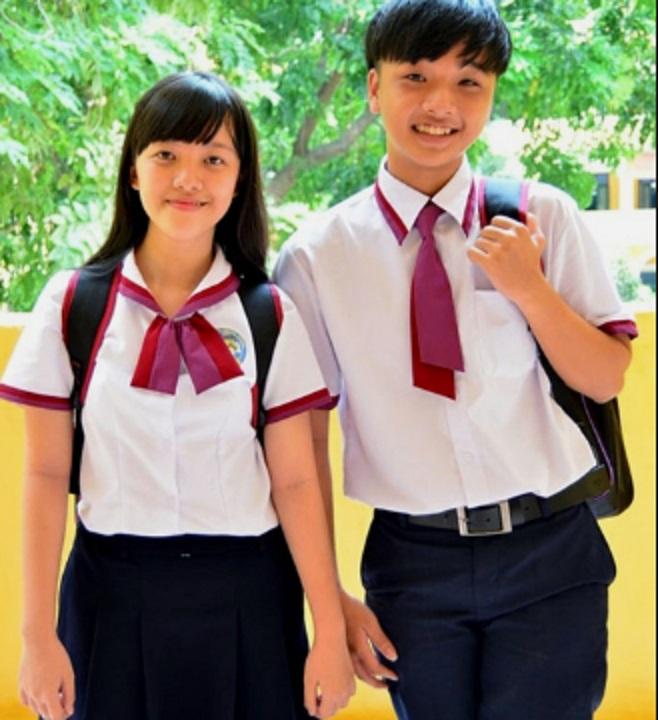Đồng phục Trường THPT Trưng Vương