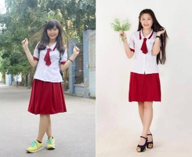 Đồng phục nữ Trường THPT Trường CHinh