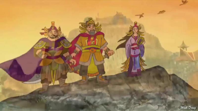 Truyện An Dương Vương và Mị Châu - Trọng Thuỷ - Bài 4