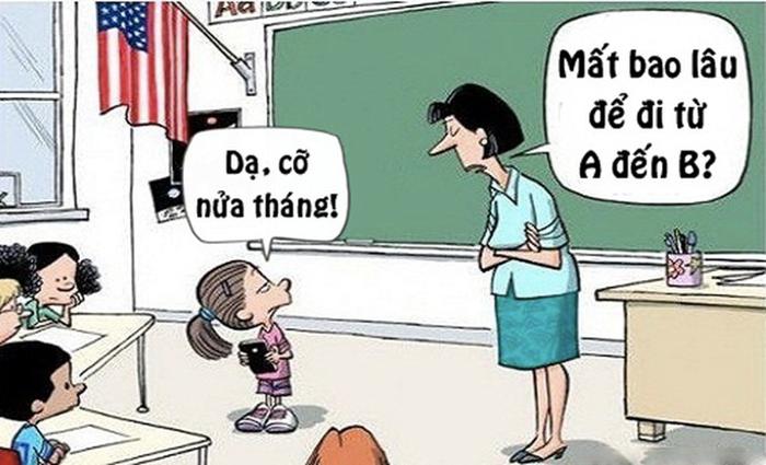 Truyện cười ngắn về thầy cô số 8