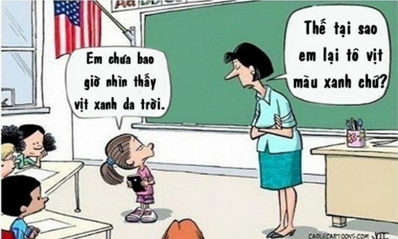 Truyện cười ngắn về thầy cô số 4
