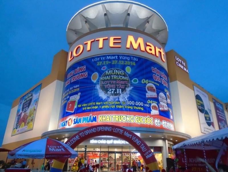 Lotte Mart Vũng Tàu