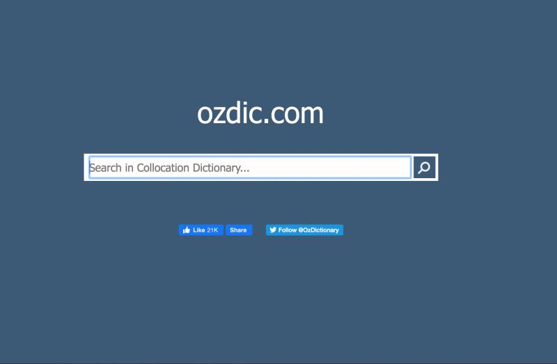 Từ điển Collocation