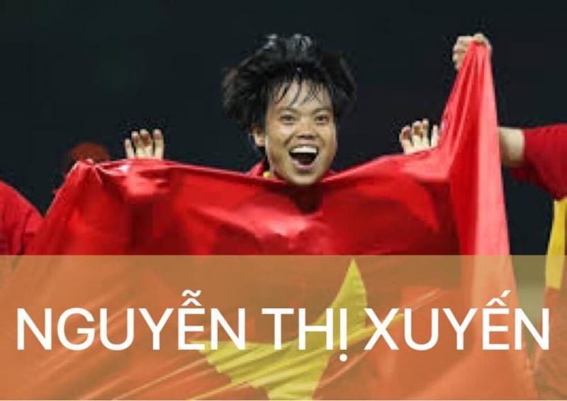 Nữ cầu thủ Nguyễn Thị Xuyến