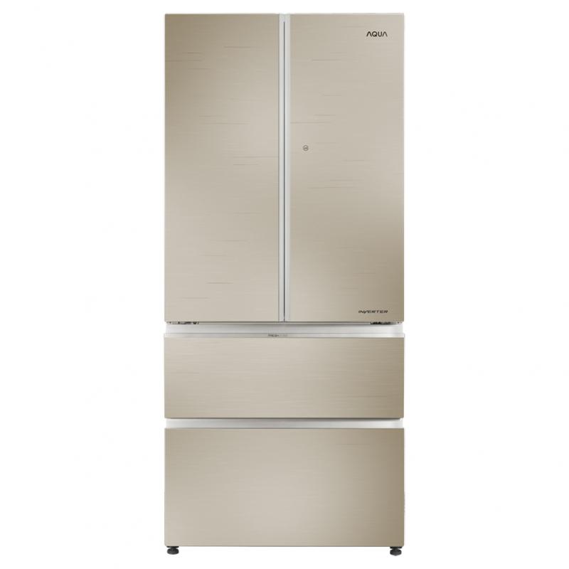 Tủ lạnh Aqua 592 lít AQR-IG656AM (GC) 4 cửa Inverter