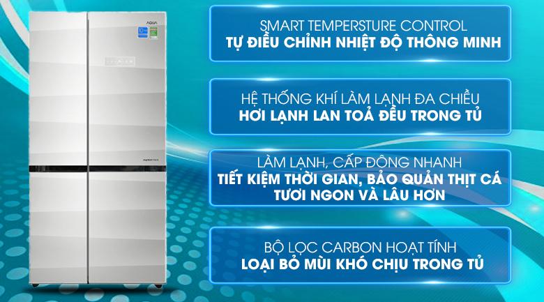 Tủ lạnh Aqua AQR-IG585AS - 518 lít