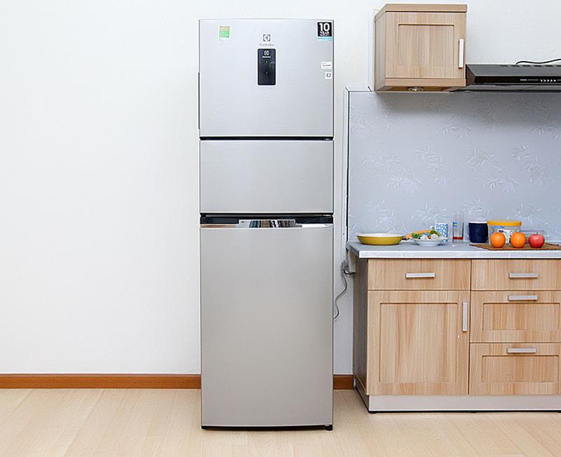 Tủ lạnh Electrolux EME-3500GG -334 lít 3 cửa Inverter