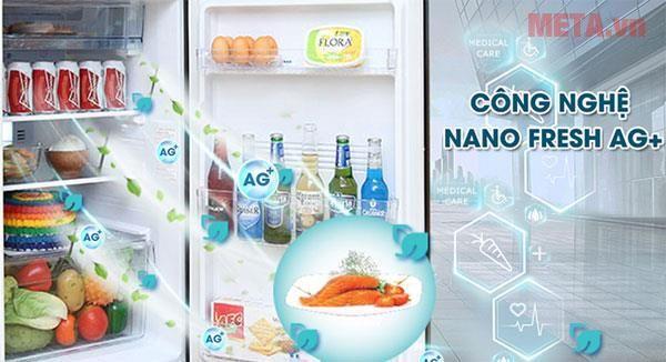 AQUA Triple Fresh sẽ mang đến cho bạn những trải nghiệm tuyệt vời với 3 chức năng: cấp đông mềm, làm lạnh nhanh và trữ lạnh