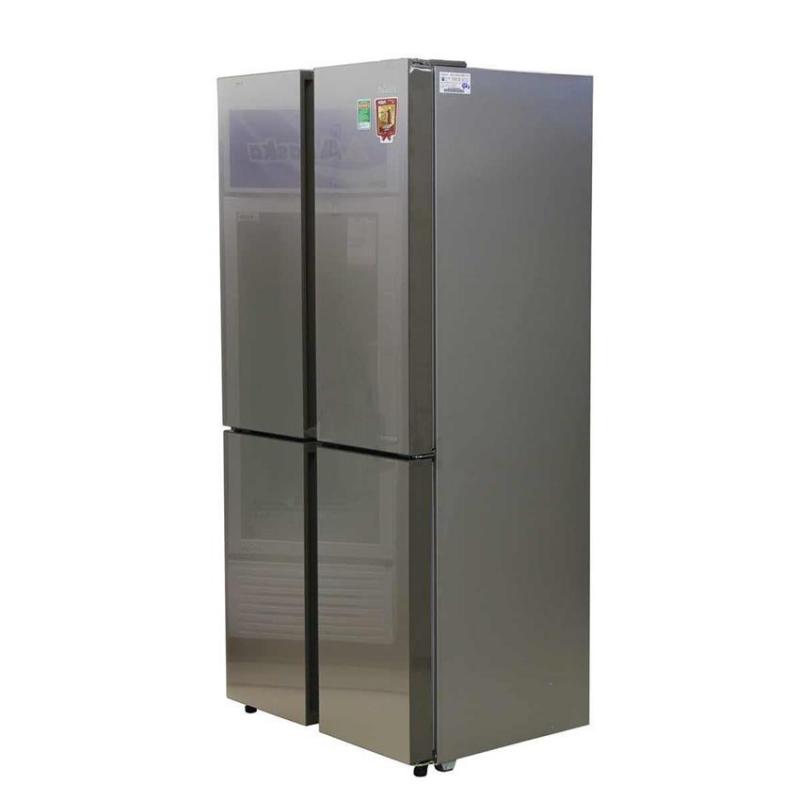 Tủ lạnh inverter Aqua AQR-IG525AM-GG 456 lít