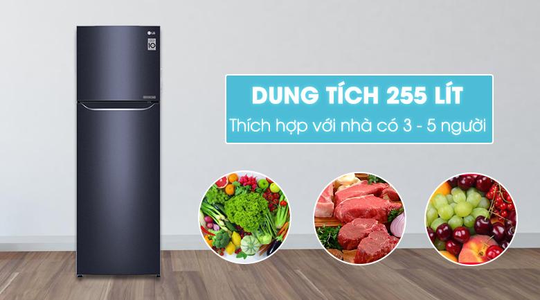 Tủ lạnh LG GN-L255PN 255 lít