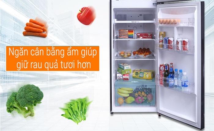 Tủ lạnh LG inverter GN-L315PN 315 lít được chứng nhận 5 sao về tiêu chuẩn tiết kiệm năng lượng do Bộ Công Thương chứng nhận