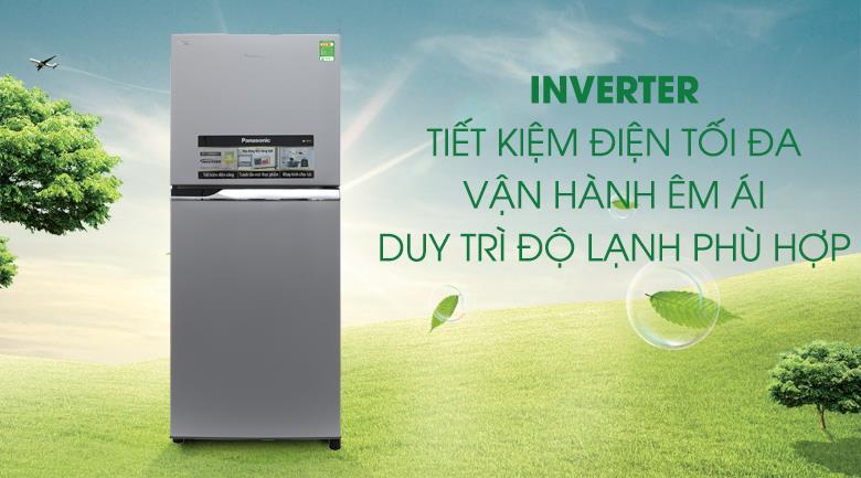 Tủ lạnh Panasonic NR-BL267VSV1 238 Lít Inverter