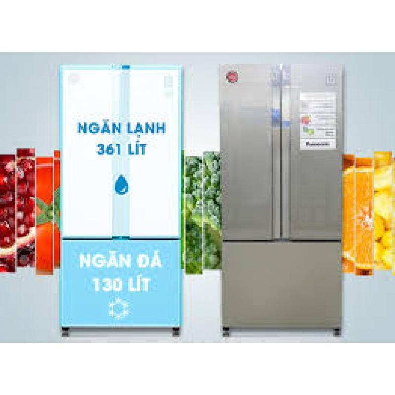 Tủ lạnh có tổng dung tích 491 lít trong đó dung tích sử dụng 452 lít, ngăn đông lạnh đặt phía dưới, ngăn rau quá phía trên