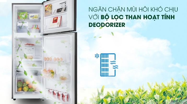 Tủ lạnh Samsung Inverter 236 lít RT22M4032BY/SV