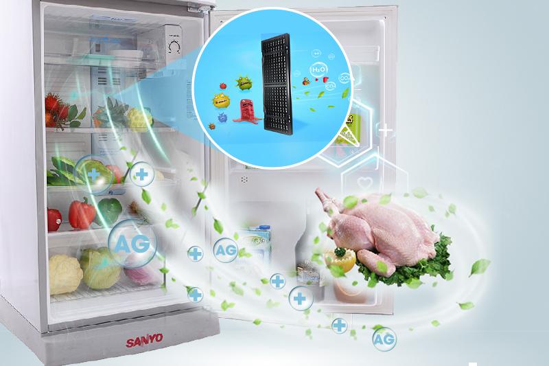 Tủ Lạnh SANYO 205 Lít SR-S205PN, SN