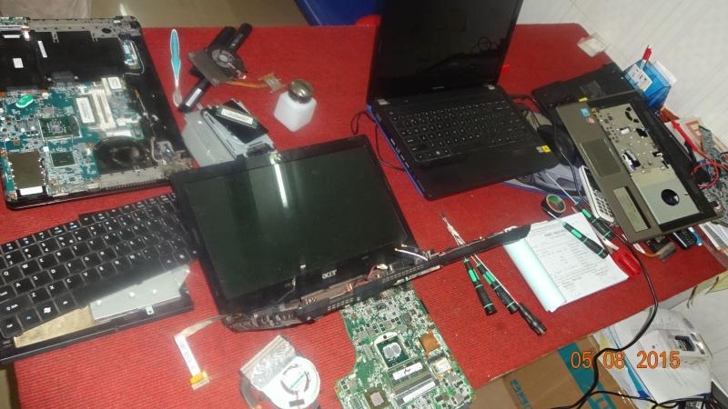 Không nên tự sửa máy tính