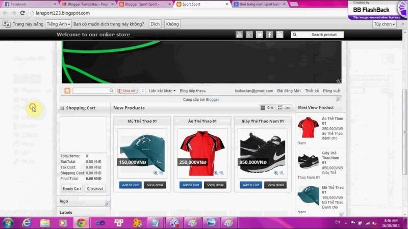 Tự tạo cho mình một web bán hàng trực tuyến